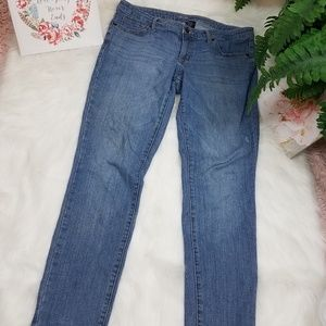 MOSSIMO JEANS LOW RISE STRAIGHT LEG SZ 10 S